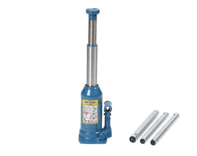 Single lift 8 tonne bottle jack
