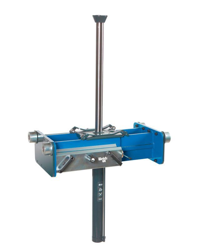 10 Tonne Air Hydraulic Single Ram Pit Jack