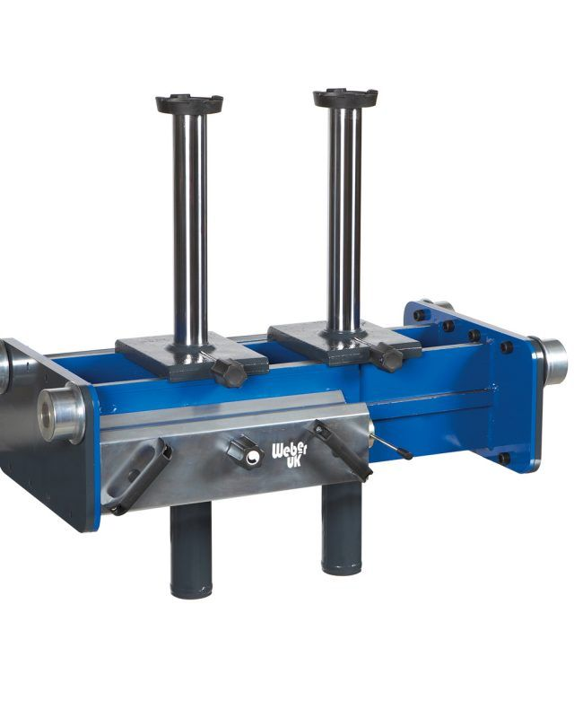 20 Tonnes Air Hydraulic Twin Ram Pit Jack
