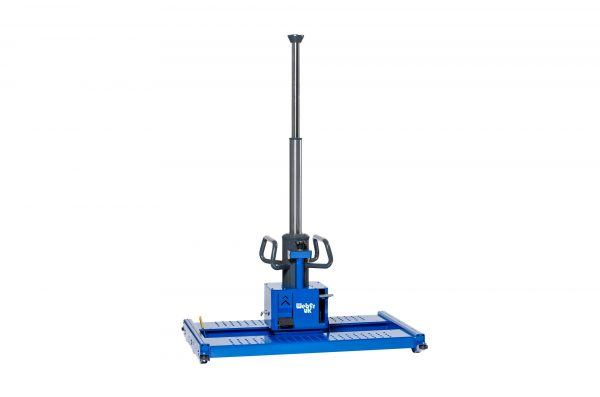 Hydraulic Floor Pit Jack Running in Rails